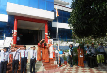 Green Mount Global School Bhimtal Celebrated 71 Independence day with great pump and show.